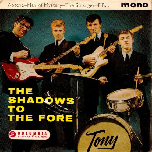 THE SHADOWS The Shadows To The Fore EP Vinyl Record 7 Inch Columbia 1961